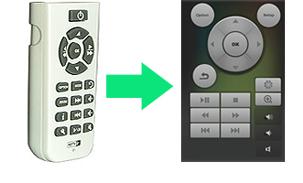 telecomando virtuale