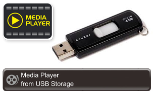 media player pentru USM Storage