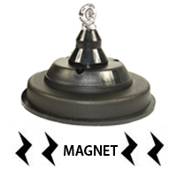 Baza magnetica PNI 120/DV 125mm