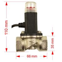 Electrovalva GAZ PNI DCF-90 3/4