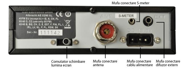 Statie radio CB Albrecht AE 5290XL Cod 12590