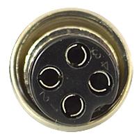 Microfon Albrecht electret cu 4 pini pentru statie