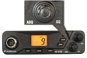 Statie radio CB Albrecht AE 6199 cu squelch automa