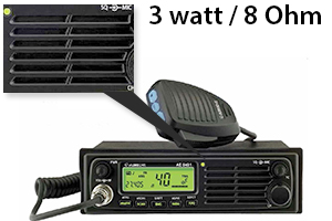 Statie radio CB Albrecht AE 6490 cu difuzor fronta