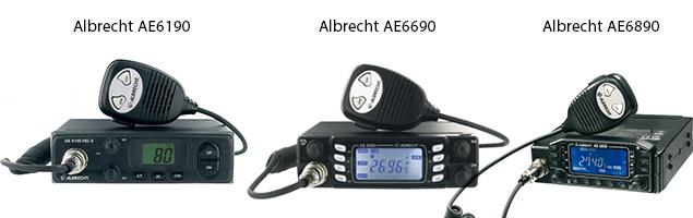 statii compatibile Carcasa montaj Albrecht 1 DIN