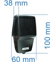 dimensiuni Microfon PNI Dinamic cu 6 pini