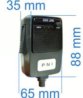 Microfon cu ecou PNI Echo 6 pini