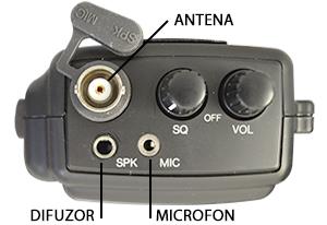Statie radio CB portabila PNI S200 Infinity.