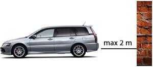 Sensori di parcheggio con display a specchio PNI P03
