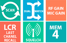 statie radio functii multiple