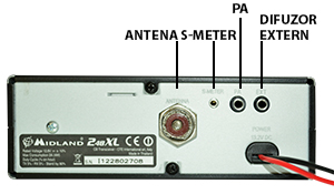 conectica Statie radio CB Midland 248 XL