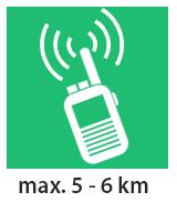 Statie radio UHF portabila Midland Alan HP446 Extr