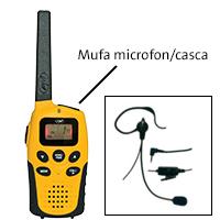 conectica Statie radio PMR portabila PNI PMR R6