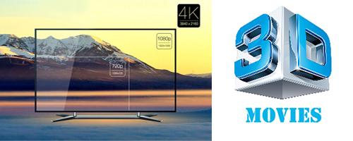 splitter video 4K-3D HDMI