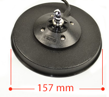 Baza magnetica Sirio DV MAG 145S Diametru 157mm