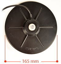 Baza magnetica Sirio MAG 160PL Slim Diametru 165mm
