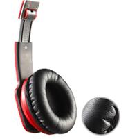 Casti Noontec Zoro HD Red model MF3120R