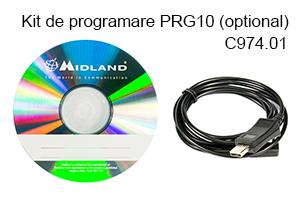 kit programare Statie radio VHF/UHF portabila Midl