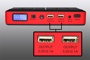 Akumulator zewnętrzny PNI JS10A do rozruchu silnika s
