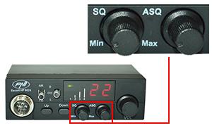 Statie radio CB PNI Escort HP 8024 ASQ reglabil