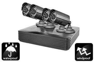 DVR Kit di videosorveglianza DVR PTZ1000