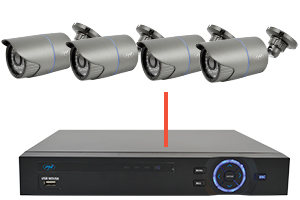 Camera Supraveghere Video Pni Ip20mp 1080p Cu Ip De Exterior Pni