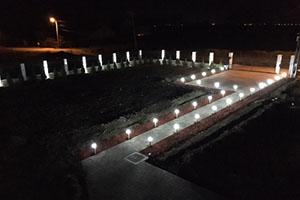 Palo da giardino LED SilverCloud GL10 5W.
