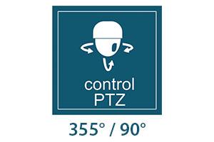 Camera supraveghere cu IP PNI PTZ 631W dome