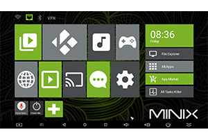 Mini PC MINIX NEO U1 cu Airmouse Minix NEO A2 lite