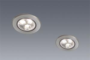 Spot LED SilverCloud D-Light 8545 silber