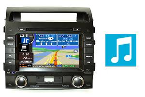 GPS + DVD + TV navigációs rendszer a Toyota számára