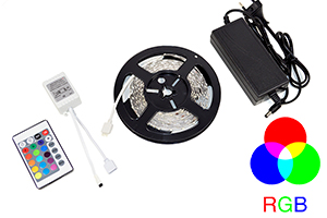 Banda LED PNI D-Light 60RGB flexibila