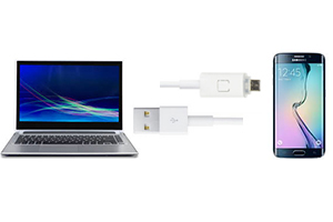Cablu PNI incarcare sincronizare USB 2.0 la Micro