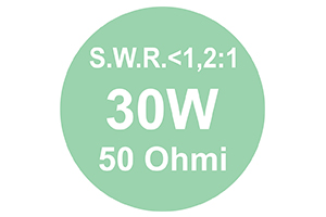 Antenna CB PNI Extra 40 con magnete incluso SWR 1.0