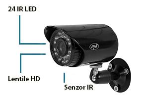 Kit supraveghere video PNI House PTZ1100
