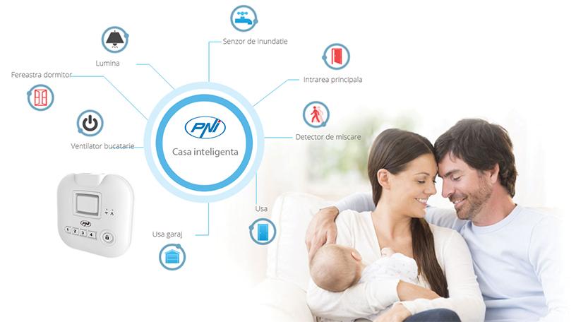 Smart Smart Smart SM400 intelligens otthoni készlet