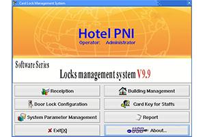 Yala PNI CH2000L szállodai beléptetés