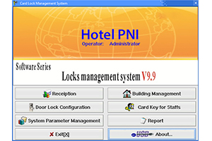 Yala control acces hotelier PNI CH2000L