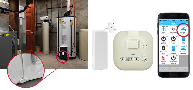 Senzor apa inteligent PNI SmartHome SM42