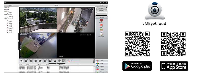 Kit di videosorveglianza IPMAX2 PNI House