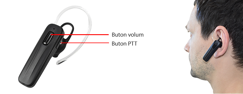 Casca Bluetooth cu microfon PNI BT-MIKE 7500