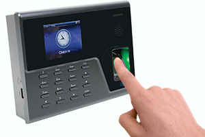 Sistem de pontaj biometric