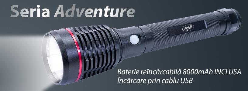 Lanterna PNI Adventure F420