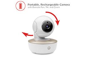 telecamera motorizzata portatile