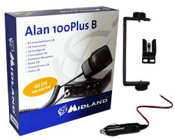 Statie radio CB Midland Alan 100 Plus B Romania Cod C442.11