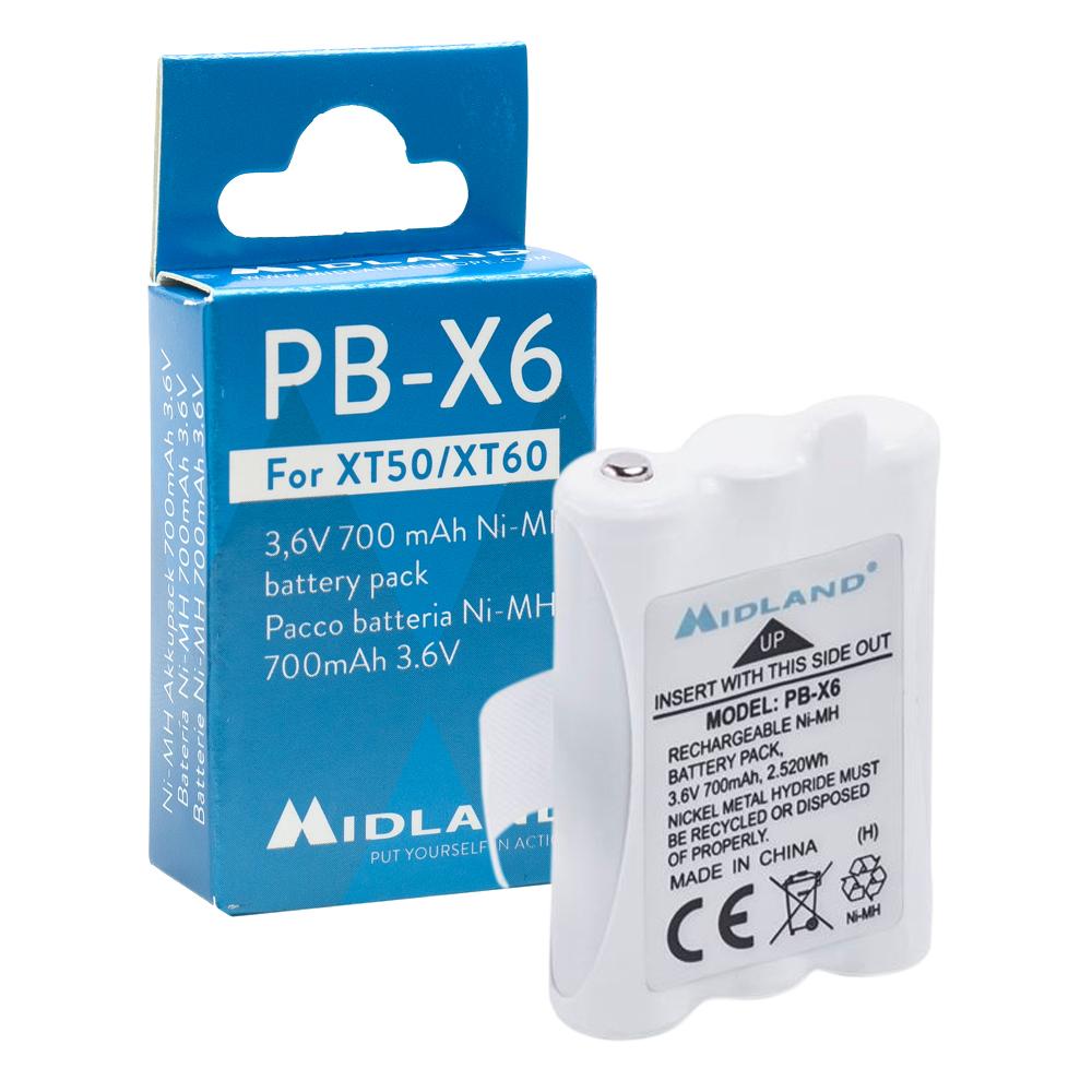 Acumulator Midland PB-BR02 Li-Ion 1800 mAh