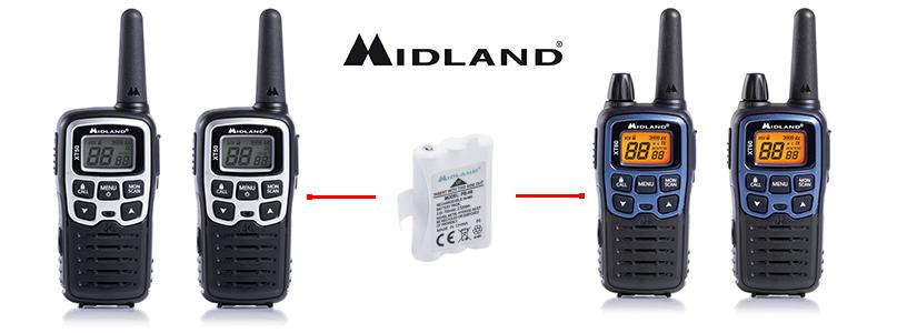 Acumulator Midland PB-X6