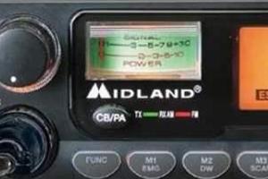 Statie radio CB Midland Alan 48 excel Cod C580.03