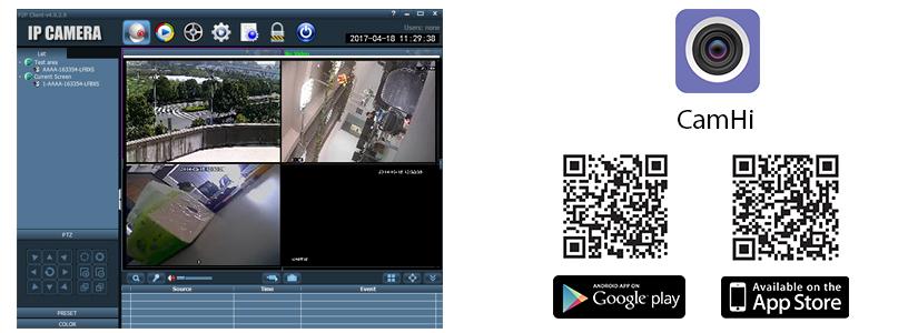 Camera supraveghere video PNI IP30