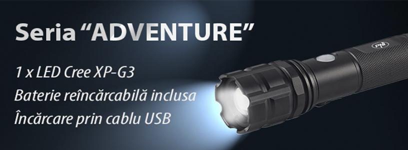 Lanterna PNI Adventure F10